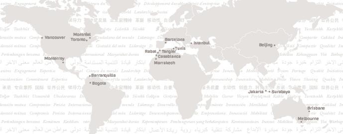 nos avantages - map